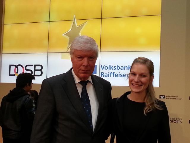 DAeC Präsident Wolfgang Müther mit unserer stellvertretenden Bundesjugendleiterin Julia Jansen