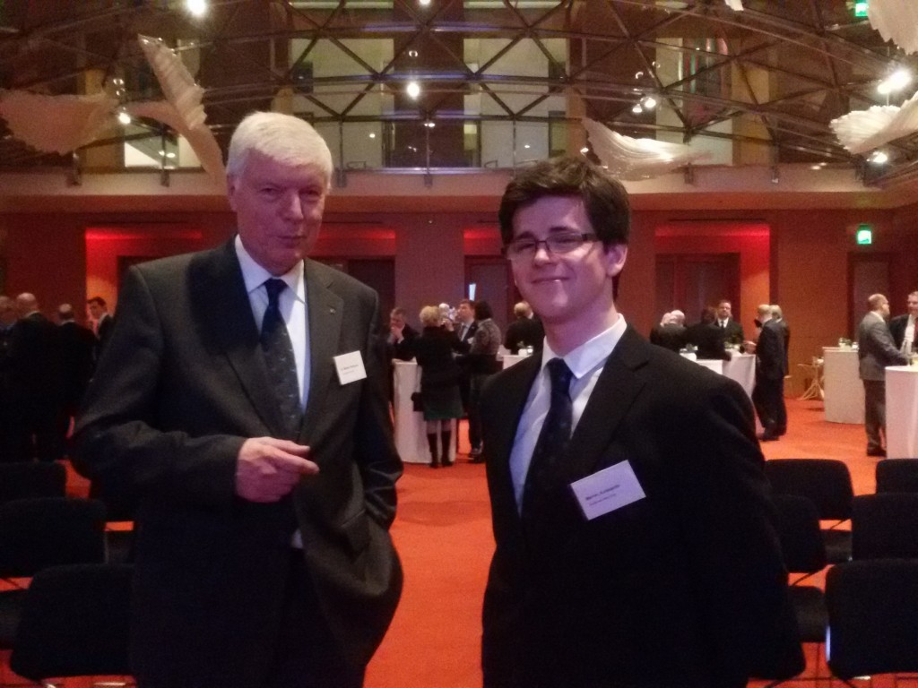 Wolfgang Müther und Konstantin Mahler vom DAeC