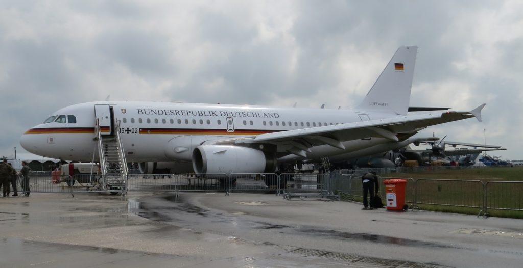 """Die """"deutsche Air Force One"""" der Flugbereitschaft BMVg"""